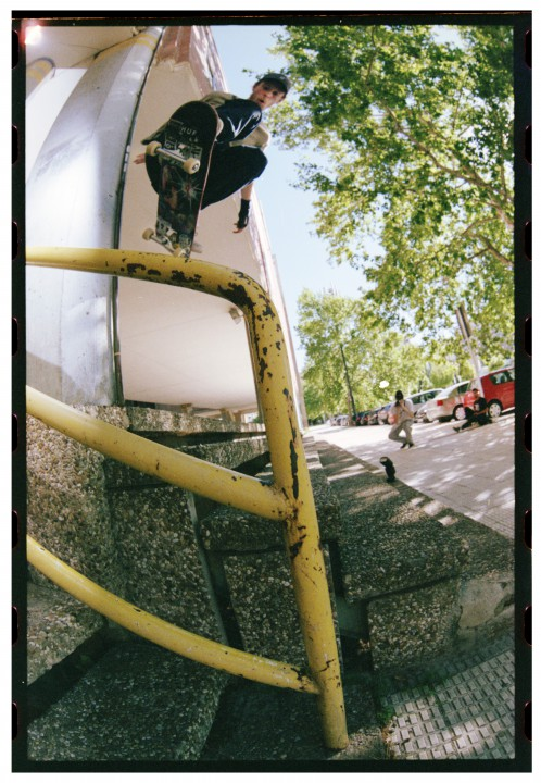 "Tom Delion, wallie, Saragosse / Zaragoza. ""Teddie"" days."