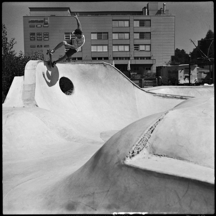 Carl Sansac, five-0 fakie, Port Land