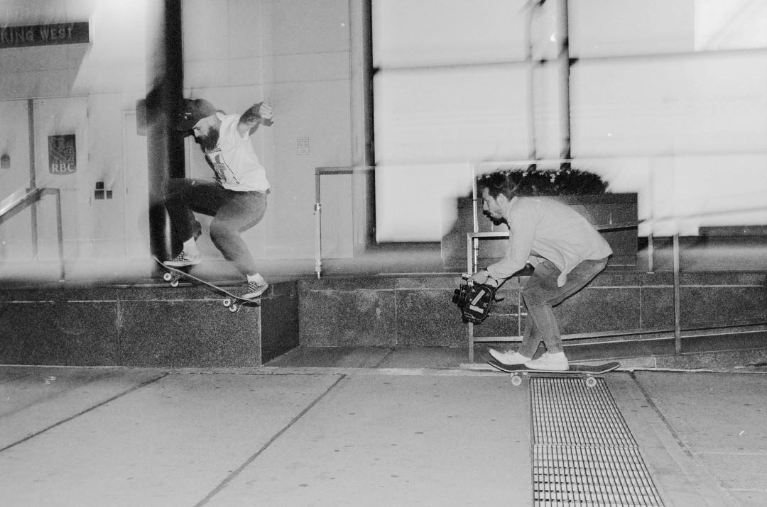 Rob Mentov & Will Baigent. Ph.: Jake Borchenko