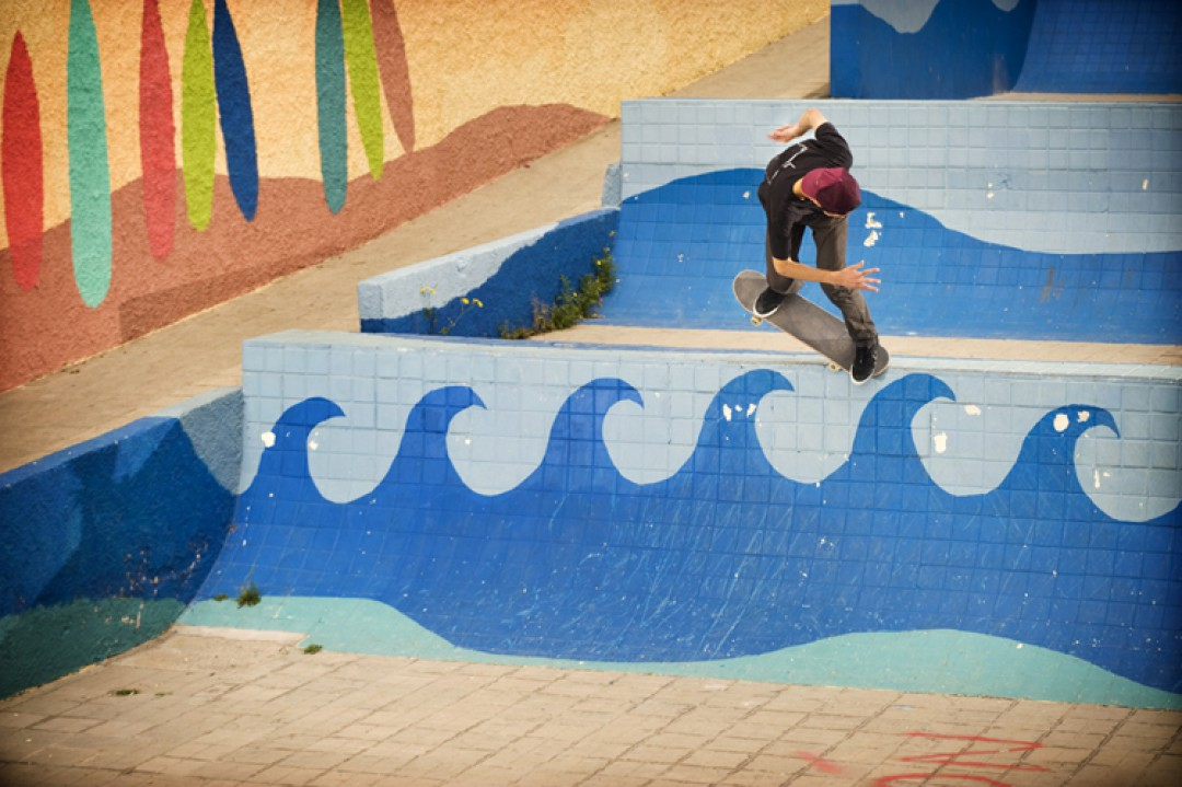 Rémy Taveira, backside nosepick.