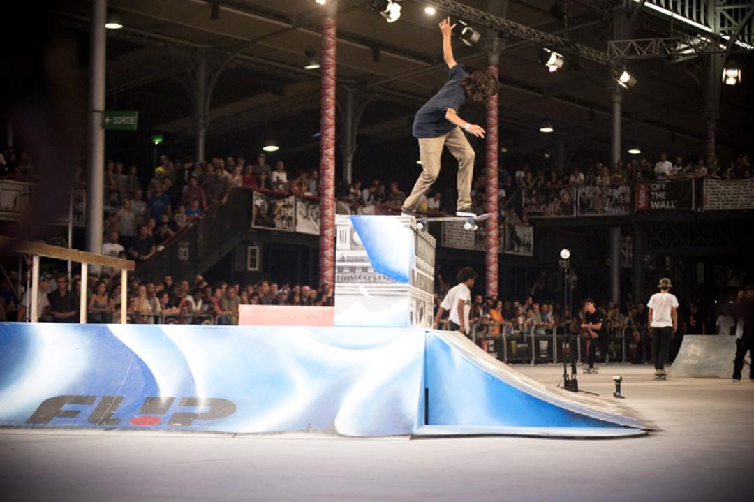 Louie Lopez, transfert bs tailslide. photo: Vincent Coupeau
