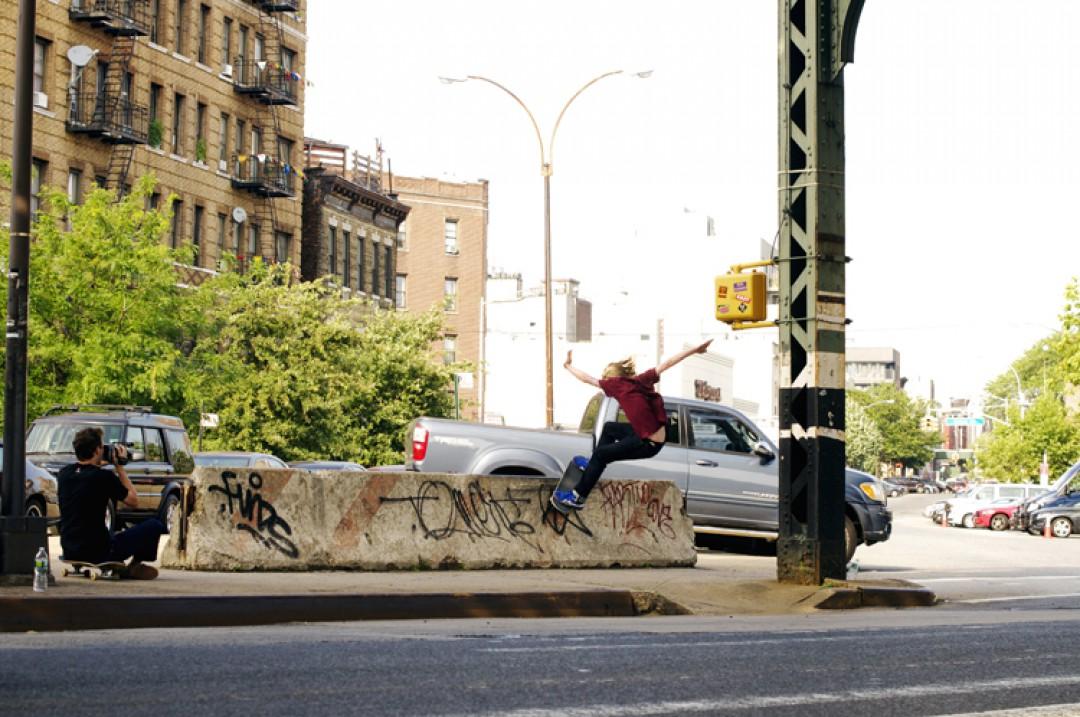 Matt Town, Smith grind.