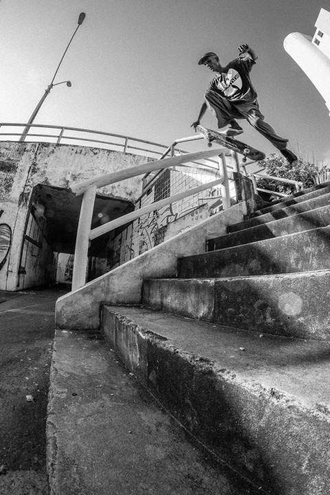 Ruan Robert, sweeper to boardslide. Ph.: Fernando Gomes