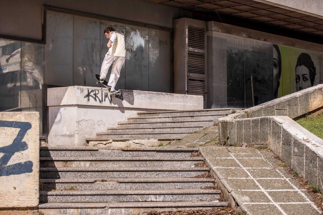 Yavor Ski, frontside boardslide. Ph.: Veliko Balabanov