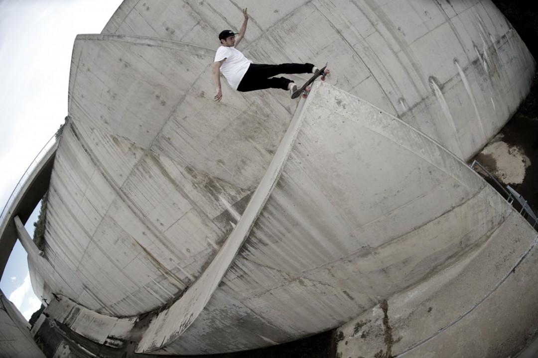 Bastien Marlin, frontside rock