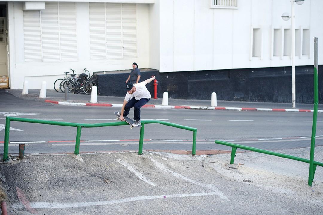 Joseph Biais, boardslide transfert. ph: Loïc Benoit
