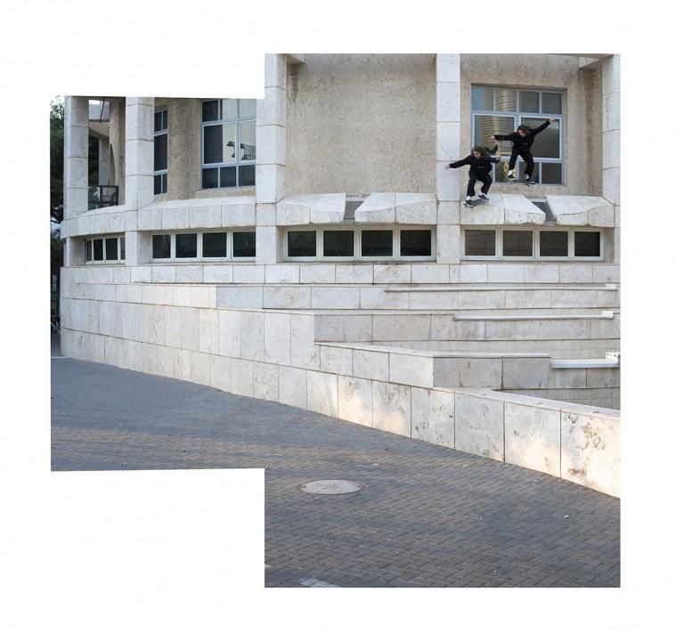 Quentin Boillon, ollie drop in. ph: Loïc Benoit