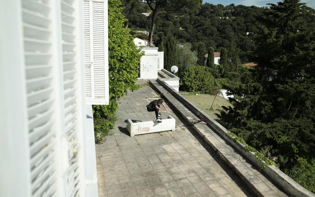 Florent Théron, ollie. Villa irakienne / Irakian villa. Ph.: Fred Schwal